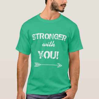 STRONGER with You Grandson Kelly Green T-Shirt
