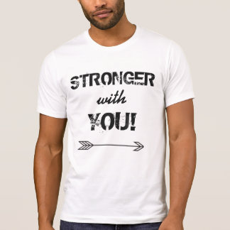 STRONGER with You Men's Alternative Crew Neck T-Shirt