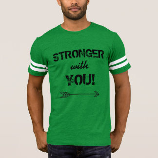 STRONGER with You Men's Football T shirt