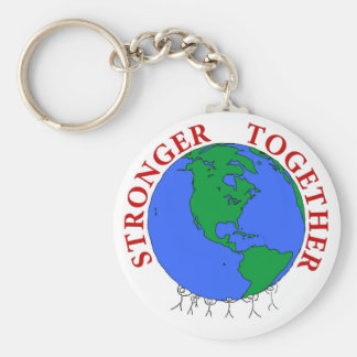 strongerTogether Key Ring