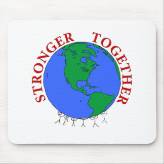 strongerTogether Mouse Pad