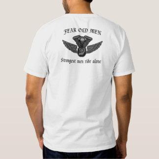 Strongest Men Ride Alone Tee Shirt