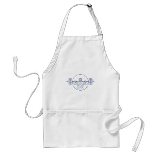 Strongman Lifting Weight Mono Line Standard Apron