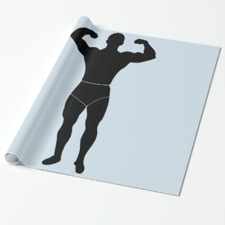 Strongman Wrapping Paper