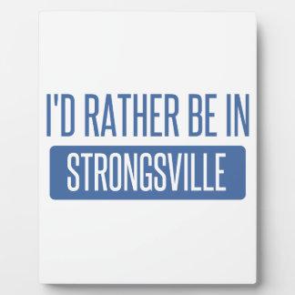 Strongsville Plaque