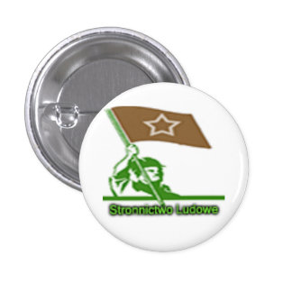 Stronnictwo Ludowe Party Logo 3 Cm Round Badge
