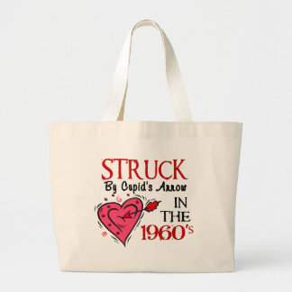 Struck With Cupid's Arrow In The 1960's Tote Bag