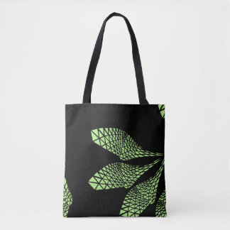 Structural Flower Tote Bag