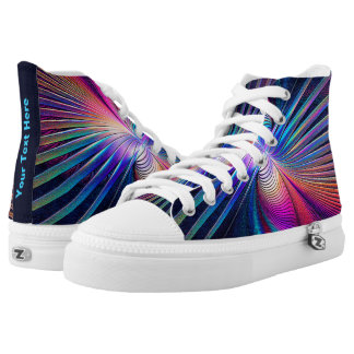 Structural Iridescence High Tops