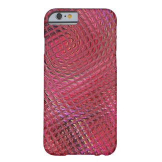 Structural optics in red barely there iPhone 6 case