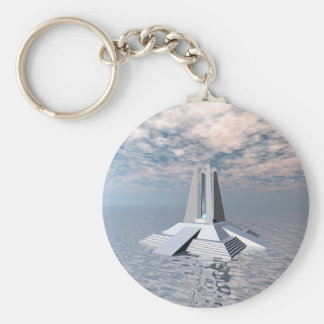 Structural Tower of Atlantis Key Ring