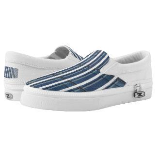 Structure Custom Zipz Slip On Shoes,  Men & Women