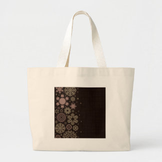 Structure snow2 large tote bag