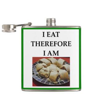 strudel hip flask