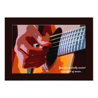 Strumming Guitar Invitation