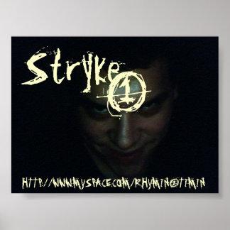 STRYKE 1 JOKER SMILE POSTER