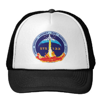 STS-133 mission patch Cap