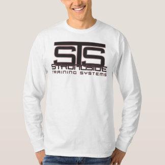 STS logo long sleeve - white Shirts