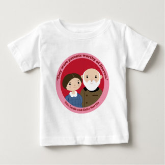 Sts. Louis and Zelie Martin Baby T-Shirt