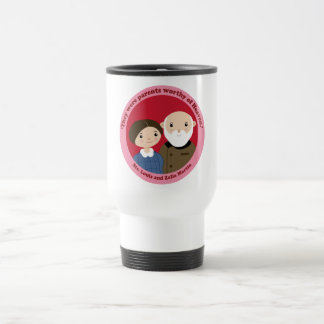 Sts. Louis and Zelie Martin Travel Mug