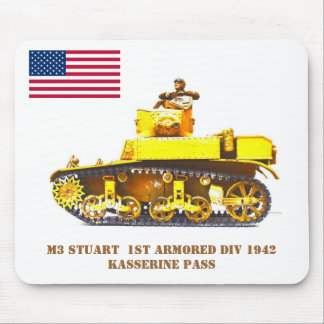 Stuart Light Tank ... Mouse Pad