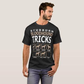 Stubborn Bloodhound Tricks Tshirt