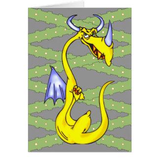 Stubborn Dragon Card