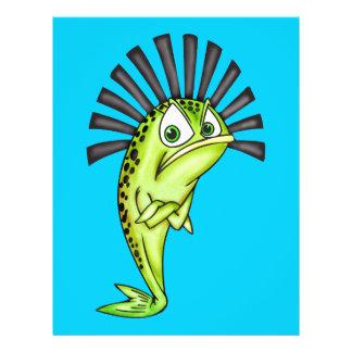 Stubborn Fish 21.5 Cm X 28 Cm Flyer