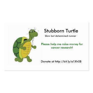 Stubborn Turtle Business Card Templates