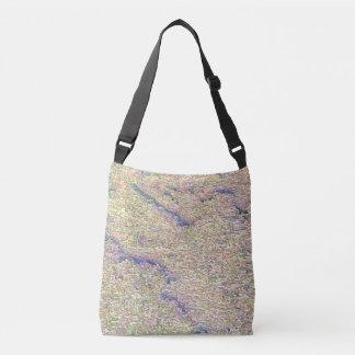 Stucco Green Sea Crossbody Bag