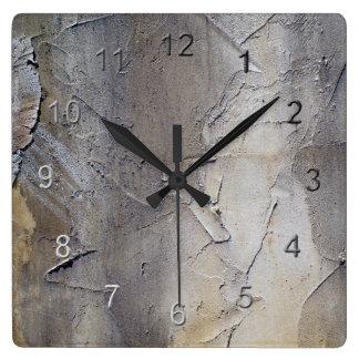Stucco Wall Clock