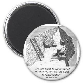Stuck in a Rut Magnet