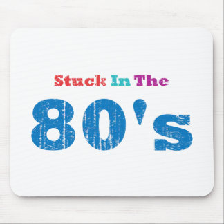Stuck in the 80's mouse pad