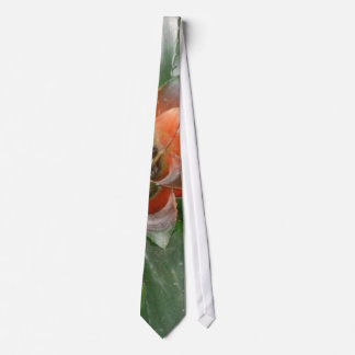 """Stuck In The Middle"" tropical plant tie"