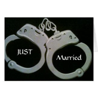 STUCK TOGETHER FOREVER-WEDDING CARD