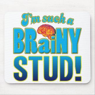 Stud Brainy Brain Mousemat