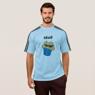 Stud Muffin Blue Adidas Men's T-Shirts
