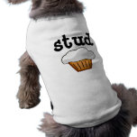 Stud Muffin, Cute Funny Baked Good Dog Clothes