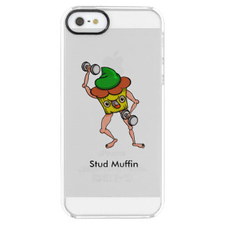 Stud Muffin Gentle Giant Funny Illustration Clear iPhone SE/5/5s Case