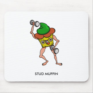 Stud Muffin Gentle Giant Funny Illustration Mouse Pad