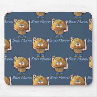 Stud Muffin Humor Mouse Pad