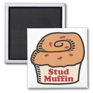 stud muffin refrigerator magnet