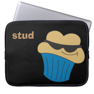 Stud Muffin Personalized Laptop Sleeve