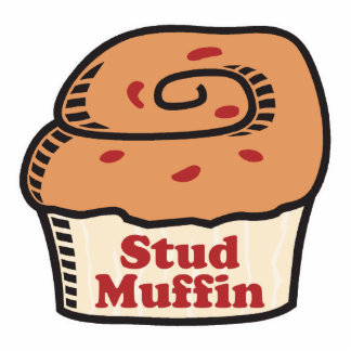 stud muffin photo cut outs