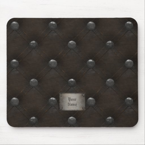 Studded Leather Armor Mousepad