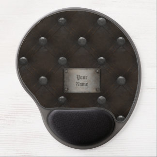 Studded Leather Armor With Plaque Gel Mouse Pad