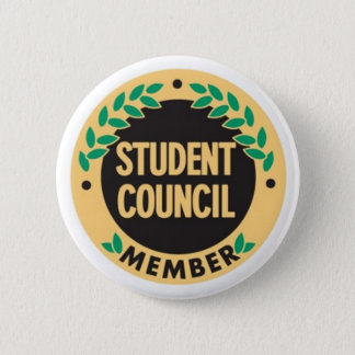 student counciller pin badge