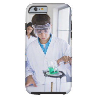 Student doing science experiment 2 tough iPhone 6 case