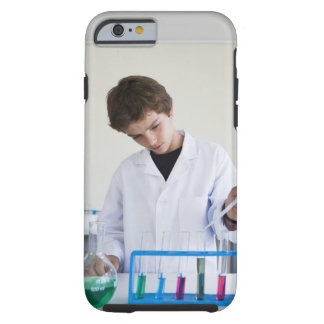 Student doing science experiment 4 tough iPhone 6 case