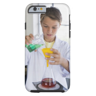 Student doing science experiment 5 tough iPhone 6 case